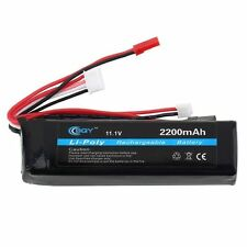 Hot Power 11.1v 2200mah Li-Po Li-Polymer Rechargeable Battery YK
