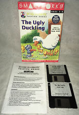 "1994 SmartWorks Bookie Bookworm Talking Books ""The Ugly Duckling"" PC 3.5"" Disks"