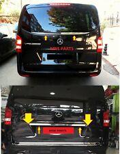 Mercedes Benz Vito w447 2014+ lado trasero 2 piezas acero inoxidable, cromo