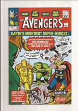 THE AVENGERS #1 NM 9.4 MAIN EVENT SPECIAL EDITION *WHITE PAGES* 2016