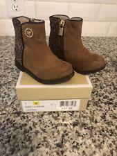 5c Toddler Shoes Michael Kors Leopard Boots Regular $65