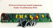 Turret board fixed components Fender tweed Bassman 5F6A DIY guitar amp kits