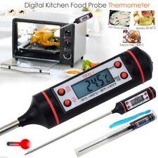 Termometro digital cocina mide la temperatura de alimentos solidos y liquidos ES