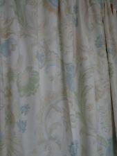 "Laura Ashley barocco floreale in tessuto da esterno/Francese PORTE Tende Foderato 64"" x 90"""