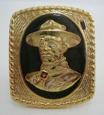 SCOUTS OF THAILAND - LORD BADEN POWELL (BP) Metal Scout Neckerchief Woggle