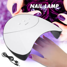 USB LED UV Nail Gel Curing Lamp Light Nail Gel Polish Dryer Nail Art Machine 36W