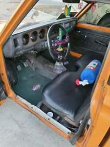 Fit For Datsun 620 Pickup Truck Custom Floor Mats Carpet Green 1973-79 Pack of2