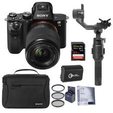 Sony Alpha a7II Mirrorless Camera with 28-70mm OSS Lens With DJI Gimbal Bundle