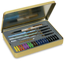Staedtler Calligraphy Set -4 Pens, 5 Nibs, 20 Ink Cartridges in Presentation Tin