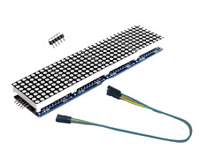 Led Matrix 8x8 x 4 MAX7219 Arduino Raspberry Pi Laufschrift Textanzeige Display