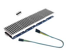 Led Matrix 8x8 x 4 MAX7219 Arduino Raspberry Pi Laufschrift Textanzeige Display