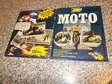 ALBUM figurine MOTO EDIRAF SUPER RAF 197? COMPLETO MB/OTTIMO NO PANINI EDIS