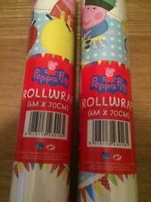 Peppa Pig Roll Wrapping Paper