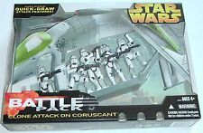 Star Wars Target Exclusive Clone Attack On Coruscant Battle Pack NEW SEALED