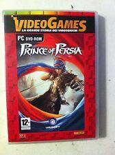 dvd per pc - gioco dvd prince of persia + cd i grandi classici del video gioco