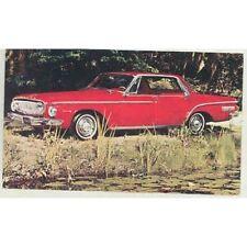 1962 Dodge Dart 440 Hardtop Original Factory Postcard mx4195-V2OL89