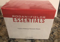 NEW Rodan + and Fields Essentials Instant Makeup Remover Wipes 2x30 or 4x30
