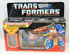 Transformers Original G1 1987 Targetmaster Crosshairs Complete w/ Box Bubble