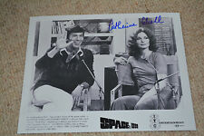 CATHERINE SCHELL signed  Autogramm 20x25 cm In Person SPACE 1999