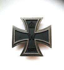 Orden Eisernes Kreuz 1. Klasse 1870 mit Nadel in Patina  - Top Repro