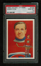 PSA 10 DIDIER PITRE 1985 Hall of Fame Hockey Card #130