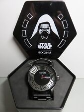 Nixon Sentry SS Star Wars Kylo Black Wrist Watch for Men A356SW-2444-00 NIB
