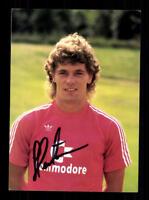 Frank Hartmann Autogrammkarte Bayern München 1985-86 Original Signiert