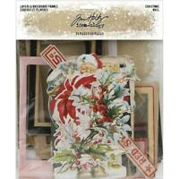 Tim Holtz ~ LAYERS & BASEBOARD FRAMES ~ Christmas ~ Idea-ology ~ Christmas 2019