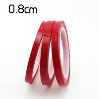 Heat Resistant Double-sided Transparent Clear Adhesive Tape Width 8mm