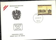 AUSTRIA 1980 FIRST DAY COVER - SEMI POST - HEROES' SQUARE IN VIENNA