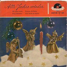 EP FOLKLORE ALLEMAND--ALLE JAHRE WIEDER--DAS SANTA CLAUS ORCHESTER