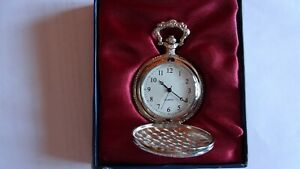 Atlas Editions Decorative Pocket Watch Silver Plated £15
