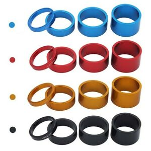 1-Set Bicycle-Headset Spacer Mountain-Bike Headset Washer Front Stem Fork Spacer