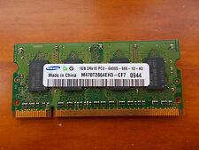 MODULO MEMORIA PORTATIL SODIMM  1GB 2RX16 PC2 6400S 666-12-A3