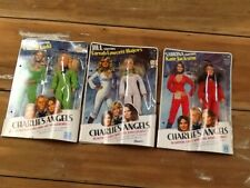 Vintage Hasbro Charlie's Angels Action Figure Doll Lot Set Of 3 1970's MIP MOC