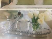 Southern Living at home Amelia Beaded Glass Tray #41100