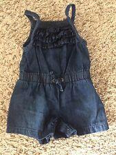 Baby Girl Size NB Denim Romper For Summer ( Cherokee)