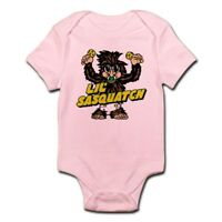 CafePress Lil Sasquatch Cute Infant Bodysuit Baby Romper (230560774)
