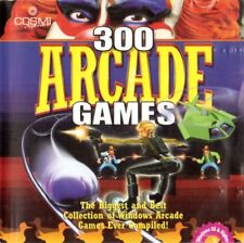 300 Arcade Games (Cosmi, 2000, Universal) - Usually ships within 12 hours!!!