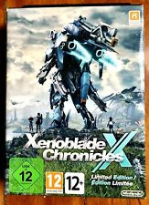 XENOBLADE CHRONICLES X LIMITED EDITION WII U NINTENDO EUROPE PAL BRAND NEW