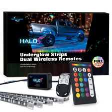MICTUNING HALOS Truck/SUV LED Underglow Light Kit RGB Multicolor Music-Sync IP67