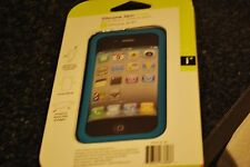 Iessentials Iph4-Sc-Cl iPhone(R) 4/4S Silicone Skin Case ~Fast Ship~ Blue