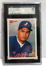 1993 Bowman Baseball JOSE VIDRO (Rookie Card) #592 Graded SGC 10