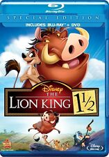 Disney's The Lion King 1 1/2 (Blu-ray/DVD, 2012, 2-Disc Set, Special Edition)