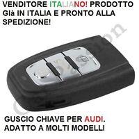 COVER CHIAVE GUSCIO AUDI A3 A4 A5 A6 Q5 Q1 S5 S4 3 TASTI SCOCCA TELECOMANDO