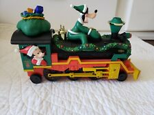 Disney Christmas Holiday Steam Engine With Goofy & Mickey