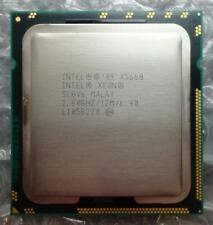 Intel SLBV X5660 Xeon hexagonal de 6/6 núcleos 2.80GHz 12 M 6.40 GT/s Socket 1366 Procesador