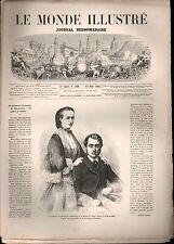 LE MONDE ILLUSTRÉ - N°309 - 14/03/1863 - GUERRE MEXIQUE - CARTE ROYAUME POLOGNE