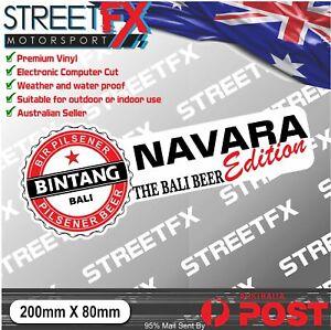 Navara Bintang Edition Sticker Decal 4x4 4WD Beer Ute For Nissan Navara NP300 40