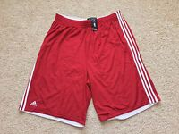 NEW ADIDAS Authentic NBA practice basketball shorts 4XT 5XT Big Tall Red